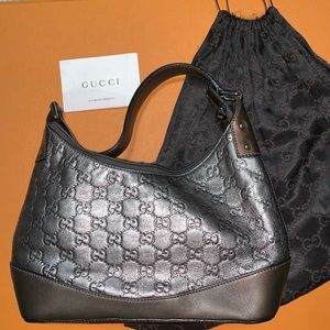 Guccissima Leather Small Shoulder Bag